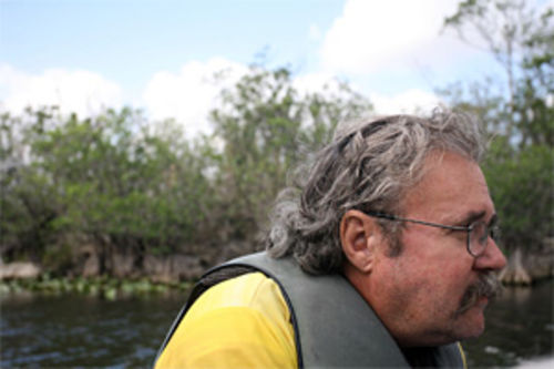 Al Ovies says water can flow through the Glades without filling the canals with dirt.