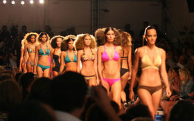 Thumbnail for Scenes from Mercedes-Benz Fashion Week Swim 2010 Day Four, Part 1
