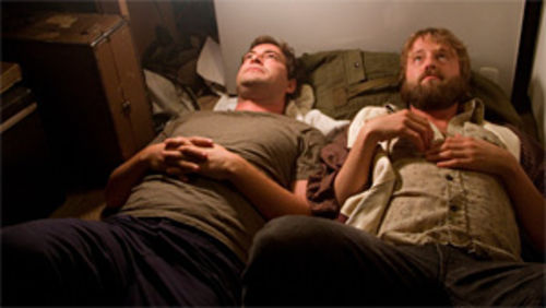 Mark Duplass (left) and Joshua Leonard