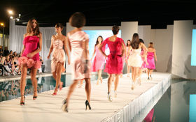 Thumbnail for Rock Fashion Week Miami Beach: The Pink Dress Collection
