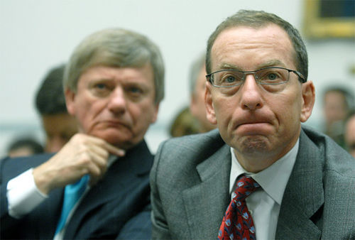 After specializing in defending rogues, Obama appointee Lanny Breuer (right) will now prosecute them?