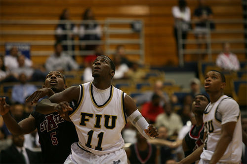 Forward Marvin Roberts transferred to FIU to be coached by Thomas.