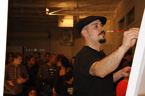 Andrés Correa is an Art Battles veteran.