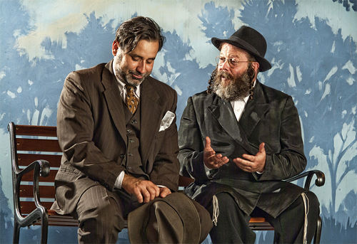 Chaz Mena and Avi Hoffman in The Quarrell.