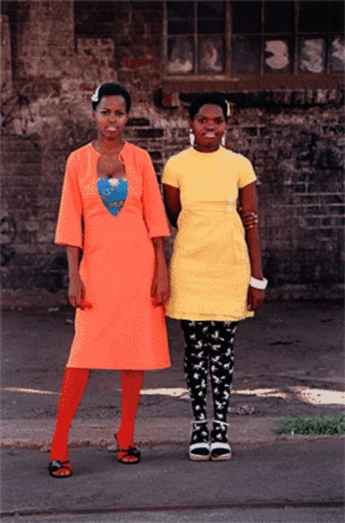 Cindy and Nkuli, from Lolo Veleko's series  Beauty Is in the Eye of the Beholder