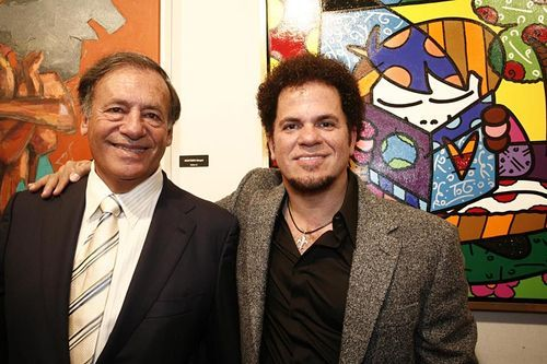 Thank developer Jeffrey Berkowitz (left) for Miami's Britto explosion.