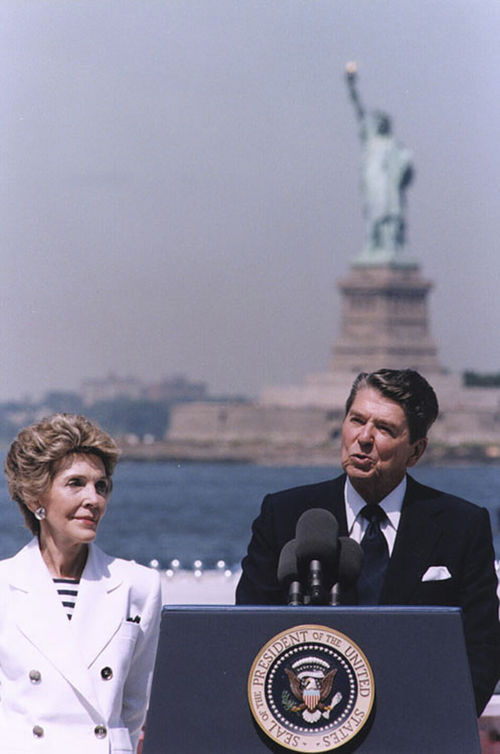 Reagan relit the torch and signed the amnesty bill in '86.