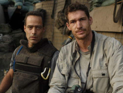 Sebastian Junger and Tim Hetherington