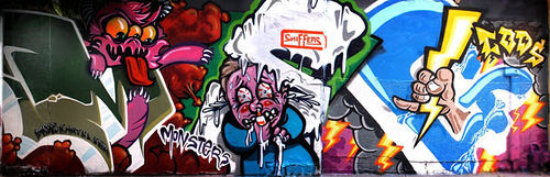 A burner done with graffiti crew MSG.