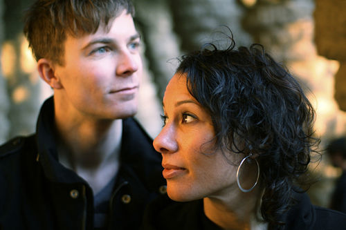 Matt & Kim threaten nudity at Culture Room.