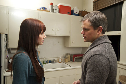 Bryce Dallas Howard and Matt Damon in Hereafter.