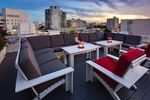 The Rooftop Lounge at the Townhouse Hotel