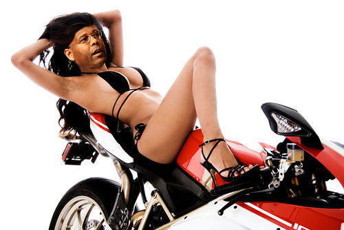 Allen West looks good on a bike.