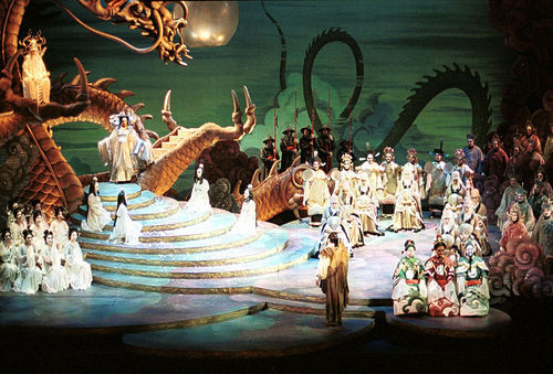 Florida Grand Opera's production of Turandot.