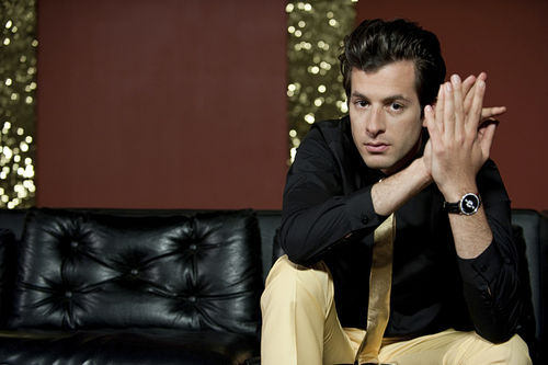 Funky white boy Mark Ronson.