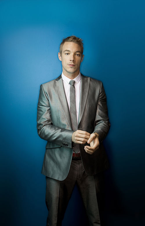 Will Diplo strip out of that business suit?