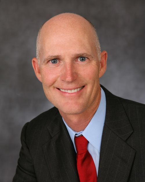 Governor-elect Rick Scott.