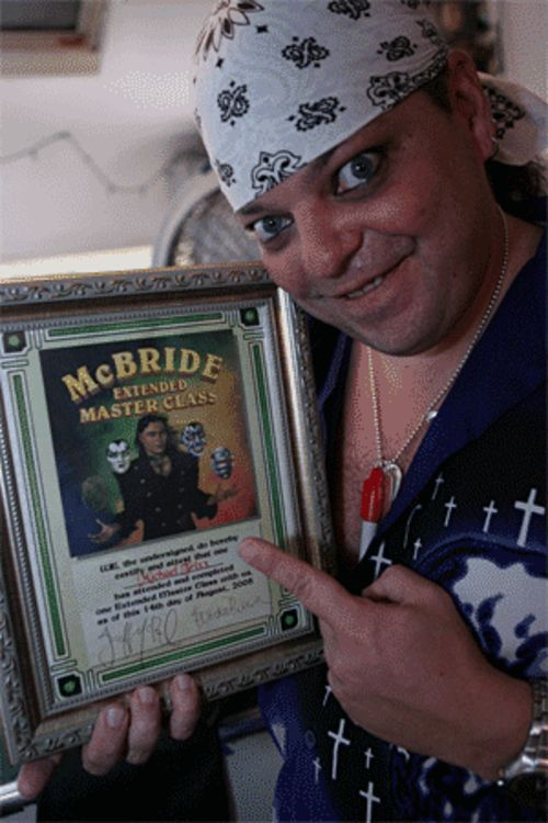 Master magician Jeff McBride told Trixx he should no longer be a mute magician