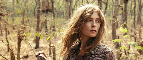Isabelle Huppert as Maria Vial.