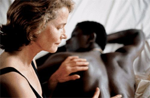 Charlotte Rampling and Ménothy Cesar's characters get their groove on