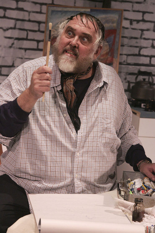 Jim Brochu plays Zero Mostel.