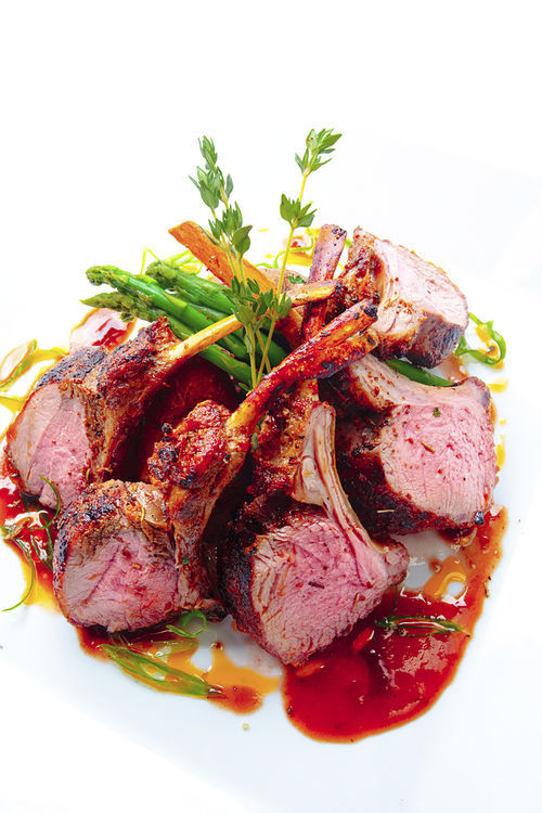 Sawa's grilled lamb rack. View our Sawa Restaurant and Lounge slide show.