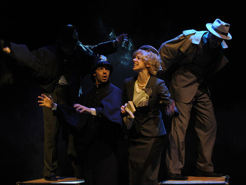 Actors' Playhouse production of The 39 Steps