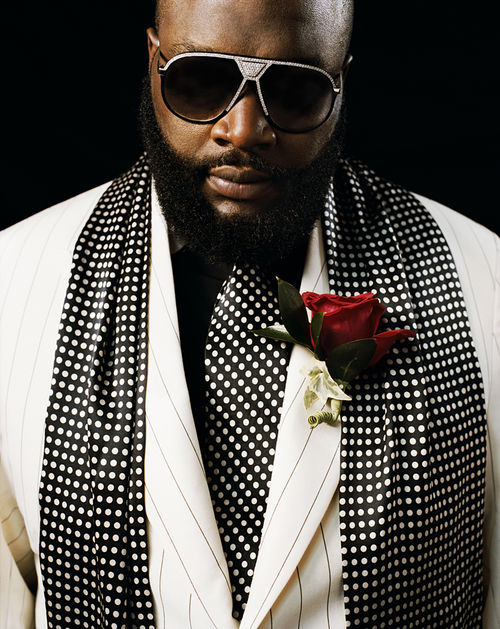 Dade County's one and only boss, Mr. Ricky Rozay.