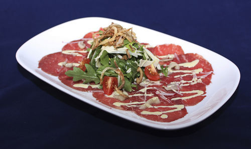 Creekstone Farms beef tenderloin carpaccio