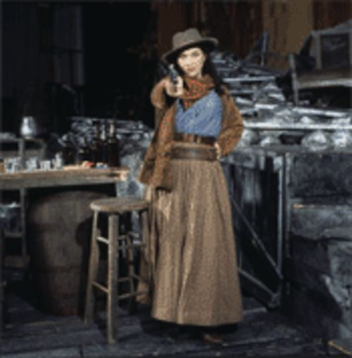 Elizabeth Blancke-Biggs as Minnie in La Fanciulla del  West