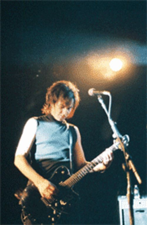 Guitarist Daniel Ash is also a founding member of Love and Rockets