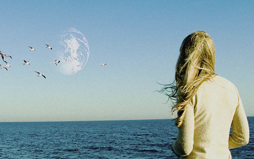 Brit Marling in Another Earth.
