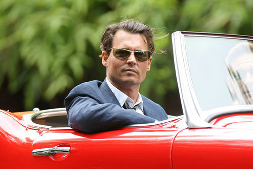 Johnny Depp in The Rum Diary.