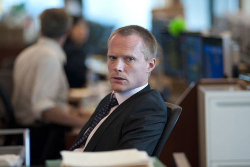 Paul Bettany as Will Emerson in Margin Call.