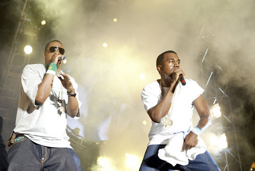Hova and Yeezy are still king. For now. Matthew Peyton/Getty Images