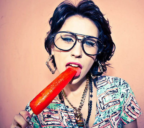Kreayshawn ain't no sucka. Also, she don't give a #$%*!