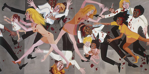 Faith Ringgold's Die