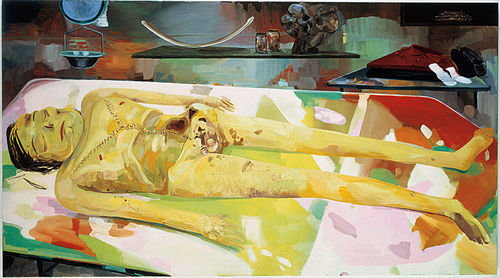 Dana Schutz's The Autopsy of Michael Jackson