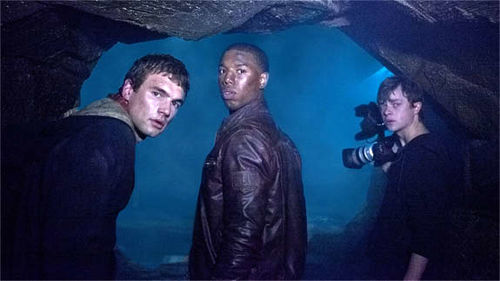 Michael B. Jordan, Michael Kelly, and Dane DeHaan in Chronicle.