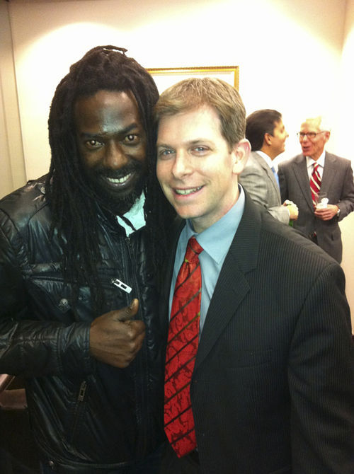 Buju and his Miami-based attorney, David Oscar Markus.