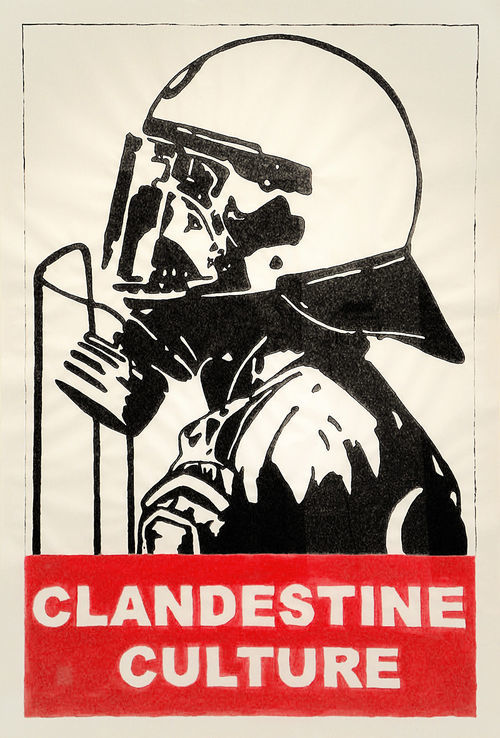 Former street artist Clandestine Culture is poised to break out big with his images.
