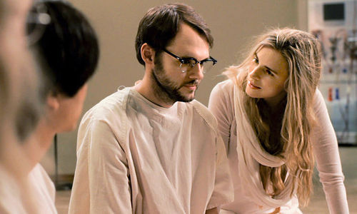 Christopher Denham and Brit Marling in Sound of My Voice.