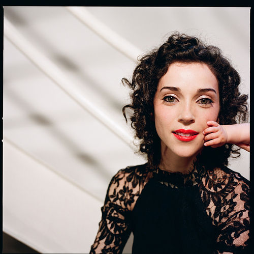 Are you as psyched as St. Vincent?