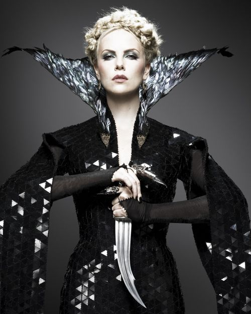 Charlize Theron as Queen Ravenna in Snow White and the Huntsman.