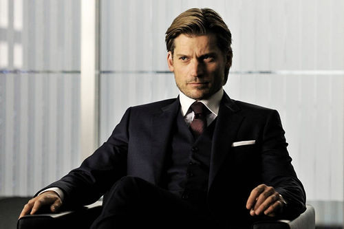 The preposterously handsome Nikolaj Coster-Waldau.