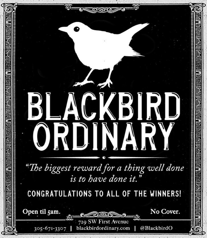 Blackbird Ordinary