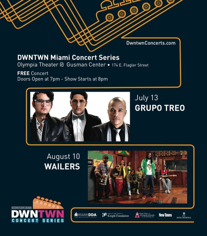 DWNTWN Miami Concert Series'