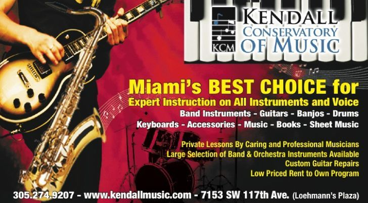 Kendall Conservatory Music