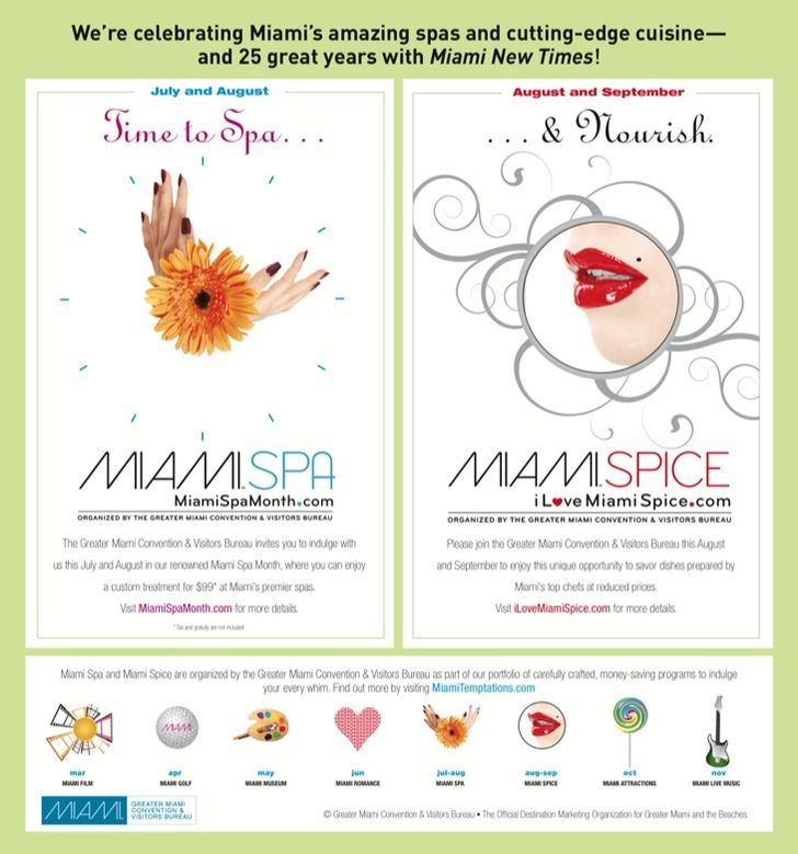 Miami Spa month