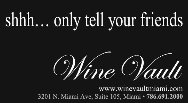 Wine Vault Miami